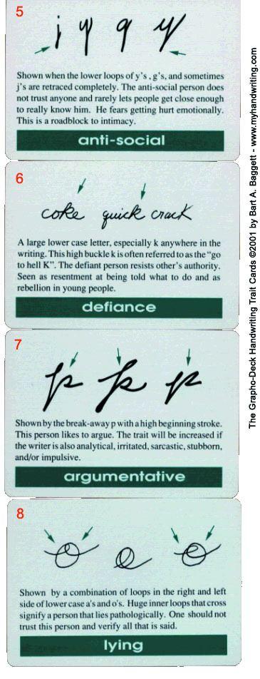 handwriting analysis long t-bar