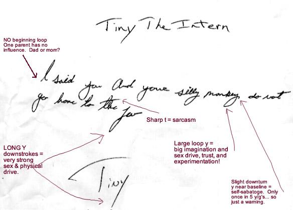 Handwriting Analysis & Document Examination