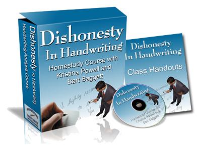 Dishonesty in Handwriting