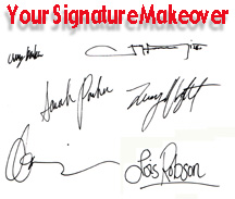 Change Your Signature, Change Your Autograph, Change Your Life