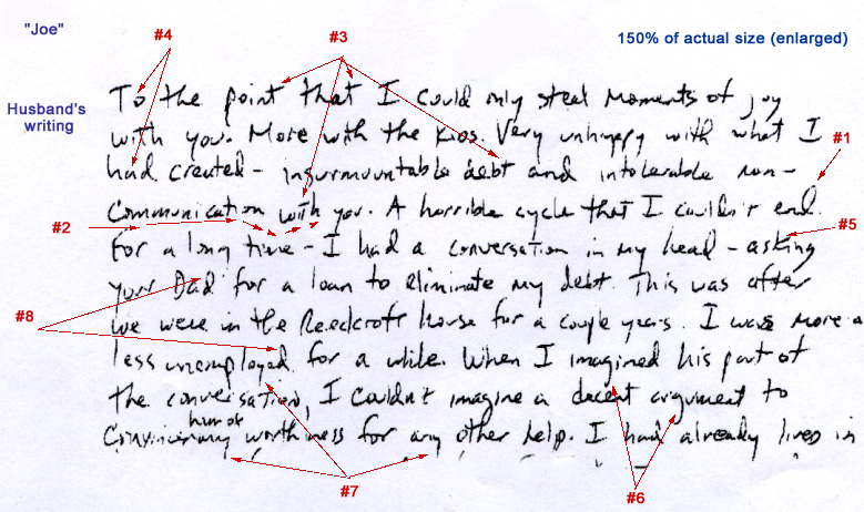 Sample Of Mahatma GandhiS Handwriting  GraphologyHandwriting